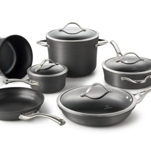 Cooking With Calphalon Nonstick Cookware 10 Piece Set
