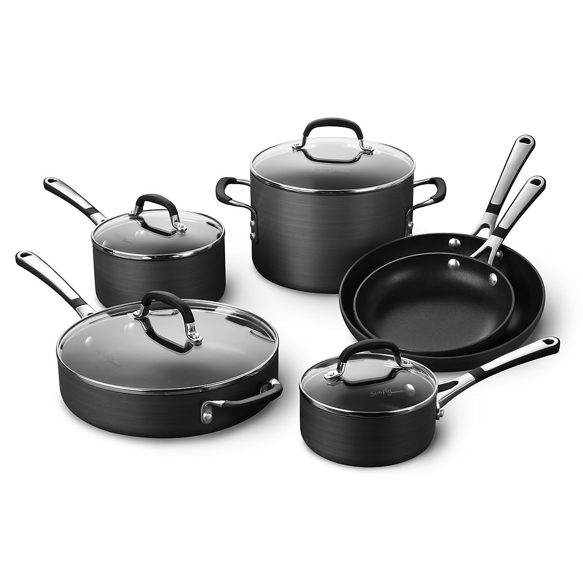Cooking with Calphalon Nonstick Cookware, 10-Piece Set – The Best ...